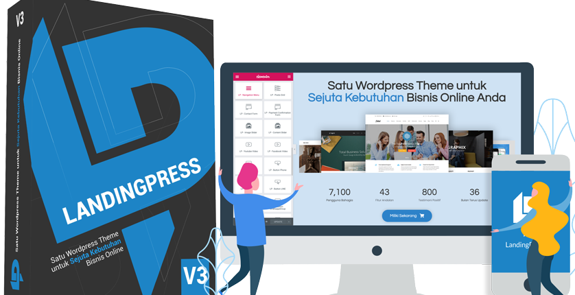 tema landingpress wordpress theme